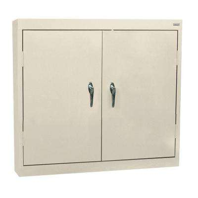 30 in. H x 36 in. W x 12 in. D Steel Wall Cabinet in Putty