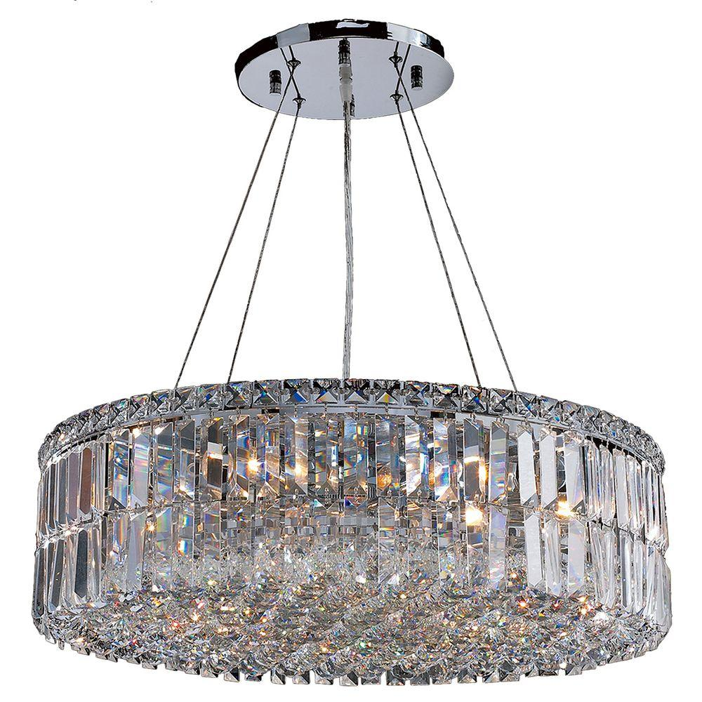 Worldwide lighting cascade collection 12 light polished chrome worldwide lighting cascade collection 12 light polished chrome crystal chandelier aloadofball Image collections