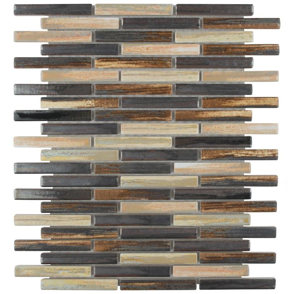 Rustica Brick Highlands 10-3/4 in. x 12-3/4 in. x 8 mm