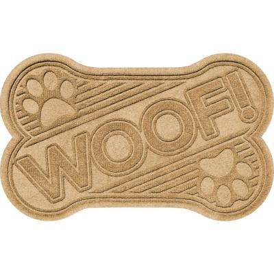 Aqua Shield Gold 24 in. x 36 in. Woof Pet Mat