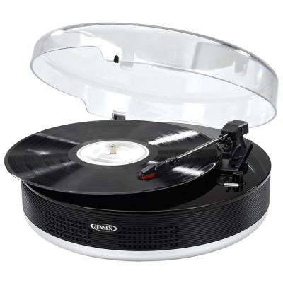 Bluetooth 3-Speed Stereo Turntable with Metal Tone Arm