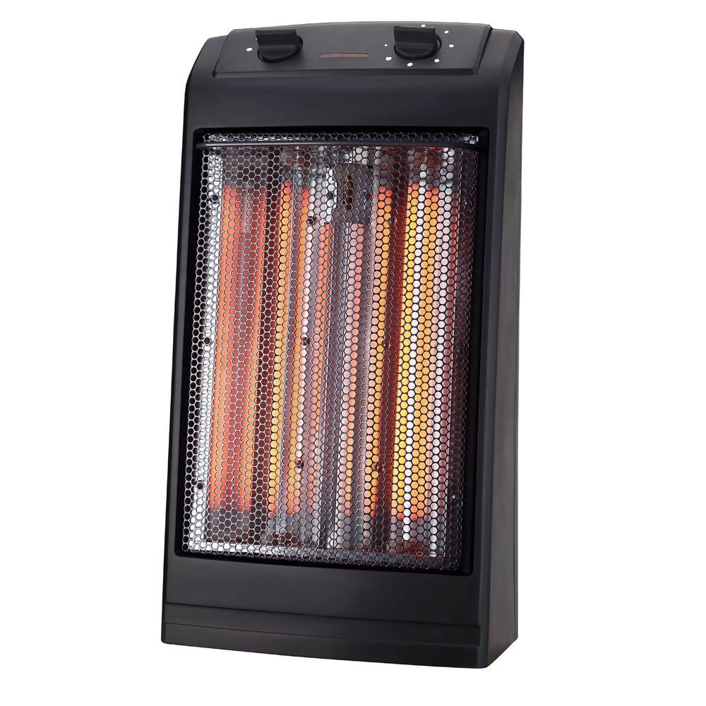1500-Watt 2-Element Infrared Electric Portable Heater