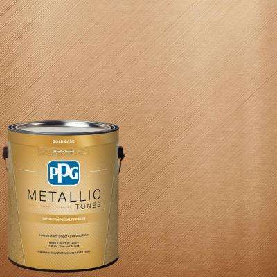 1 gal. MTL139 Copper Kiss Metallic Interior Specialty Finish Paint