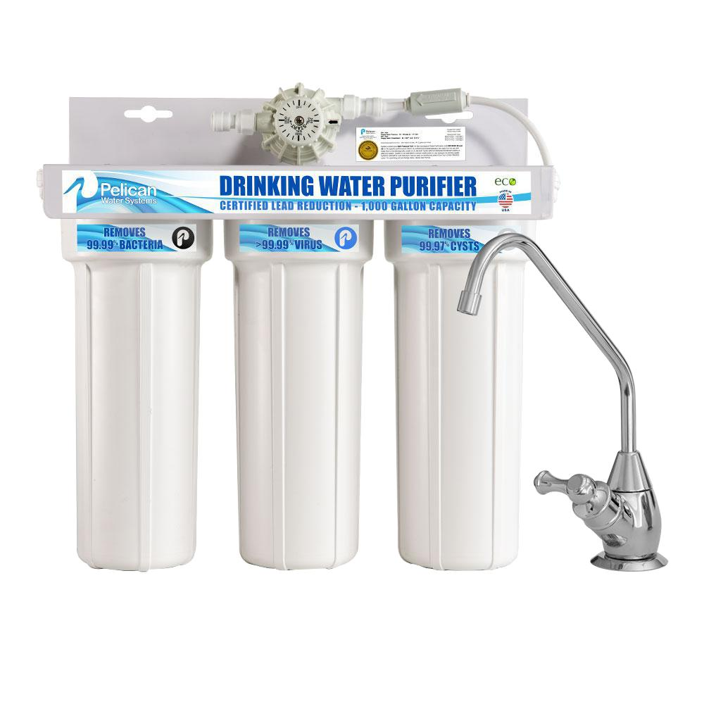 water purifier. Pelican Water Drinking Purifier Dispenser Filtration System With Chrome Faucet N