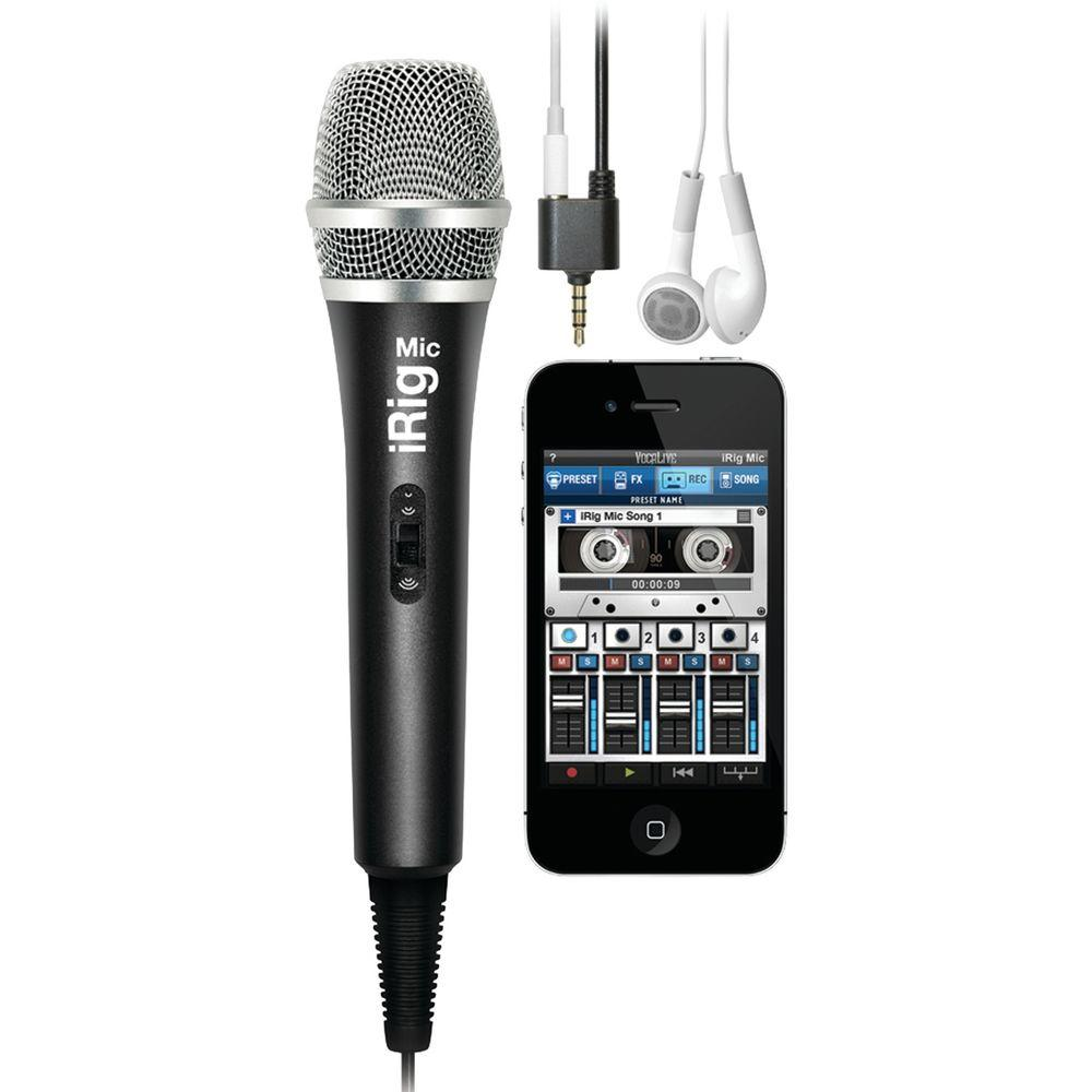 Ik Multimedia High-Quality Handheld Microphone for Smartp...