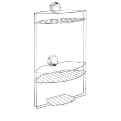 Twist 'N' Lock Plus 3 Tier Basket in Chrome
