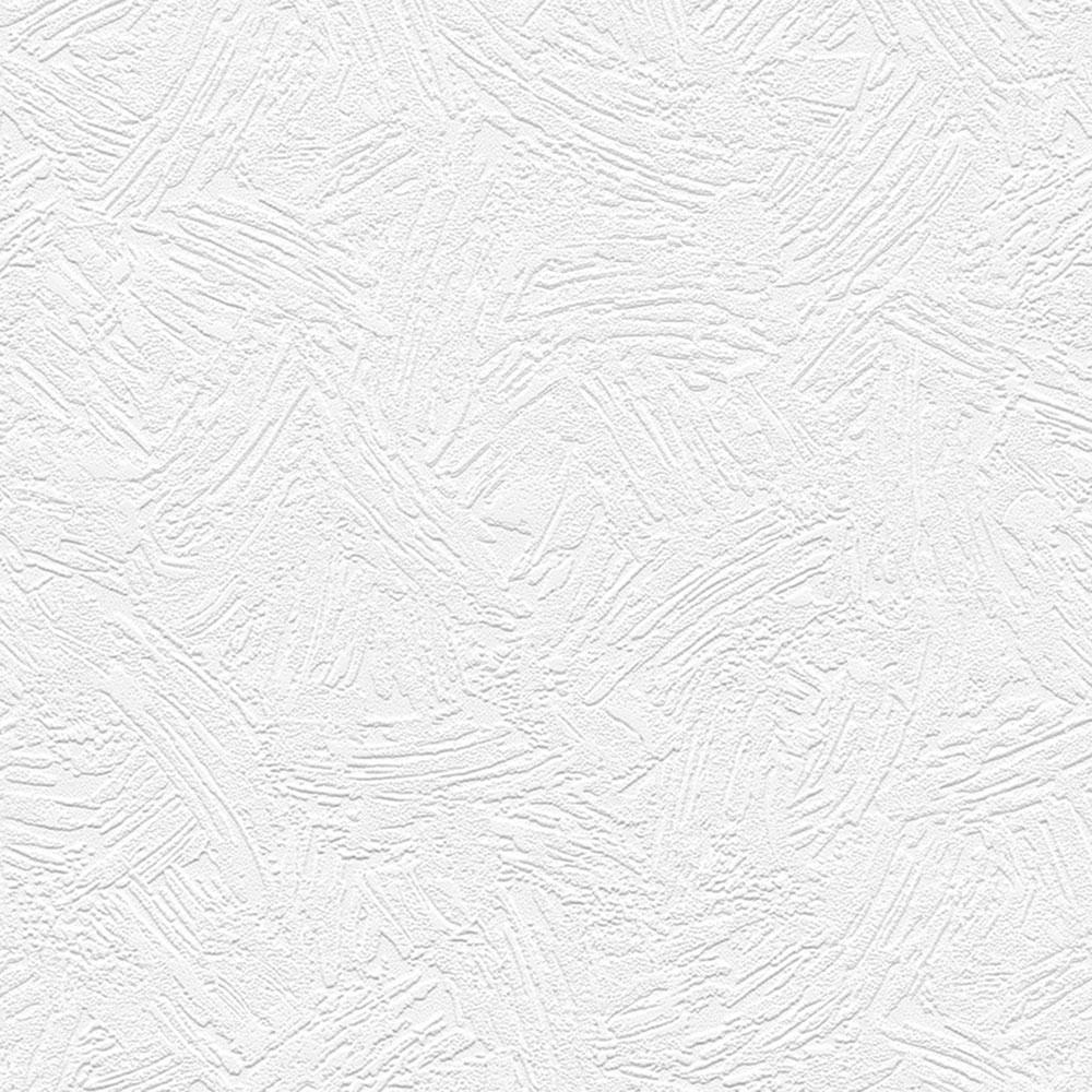 Norwall Norwall Eighties Swash Texture Paintable Wallpaper, White