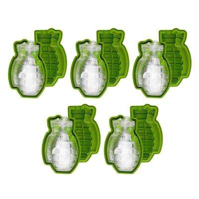 Grenade Ice Cube Mould (5-Pack)