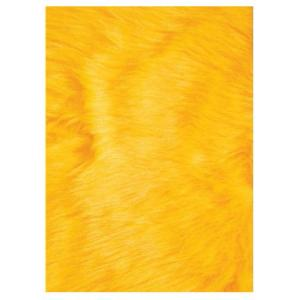 LA Rug Flokati Yellow 2 ft. 7 inch x 3 ft. 11 inch Accent Rug by LA Rug