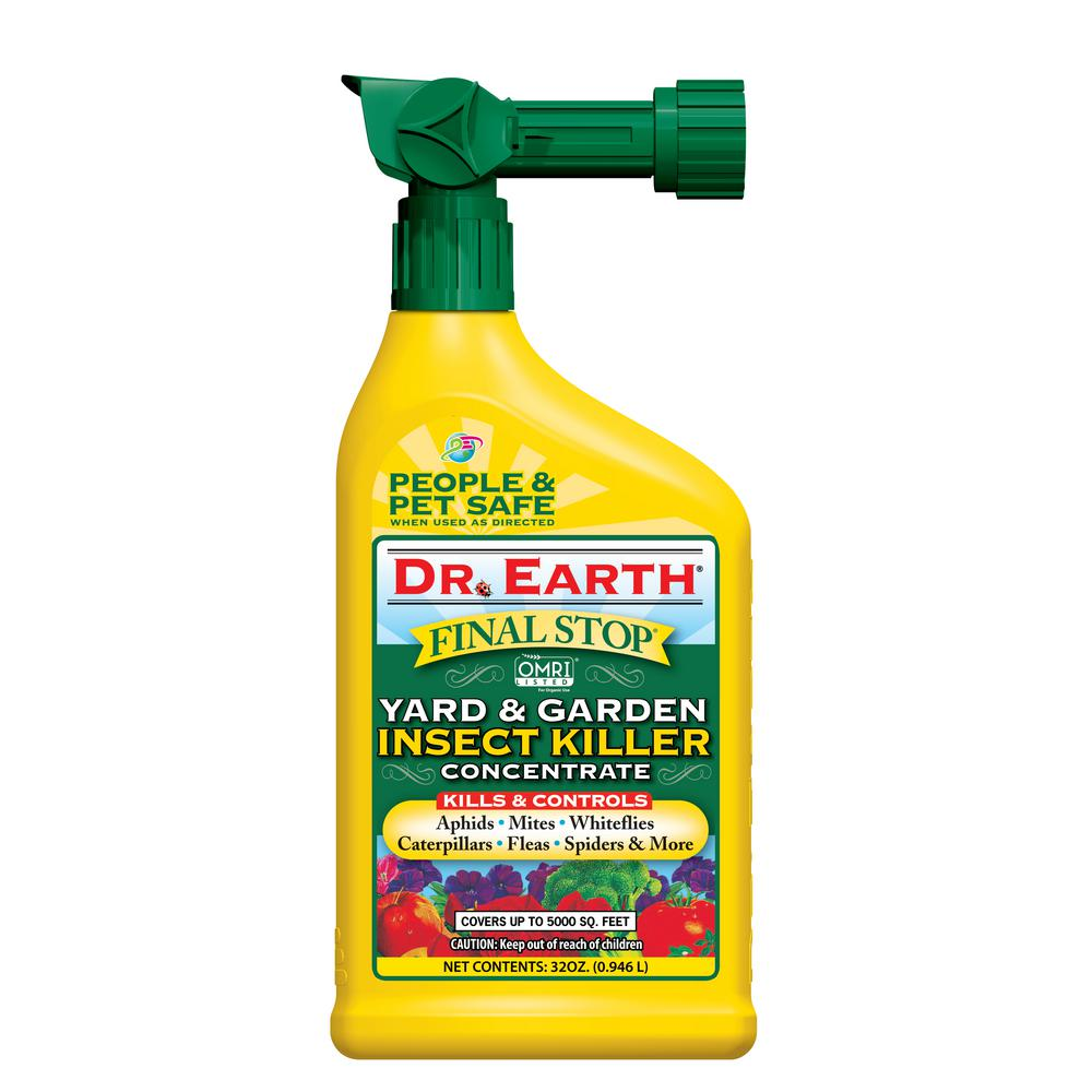 DR. EARTH 32 Oz. Ready-to-Spray Yard And Garden Insect