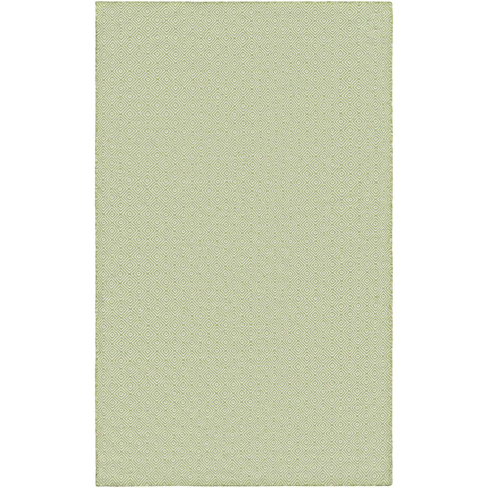 Cottages Manhasset Green 8 ft. x 10 ft. Indoor/Outdoor Area Rug