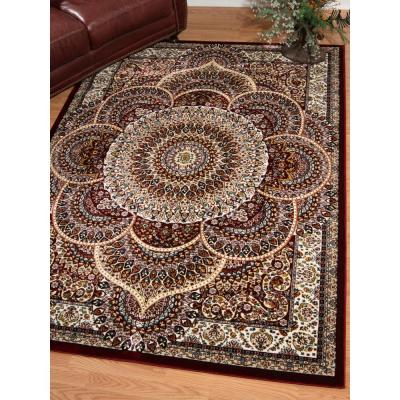 Antiquities Sarouk Ruby 7 ft. 10 in. x 10 ft. 6 in. Area Rug