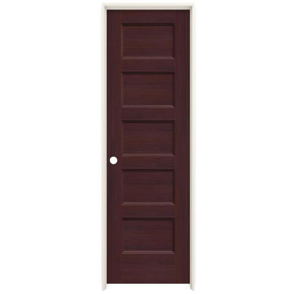 Jeld Wen 24 In X 80 In Conmore Milk Chocolate Stain Smooth Hollow Core Molded Composite Single Prehung Interior Door Thdjw236700194 The Home Depot