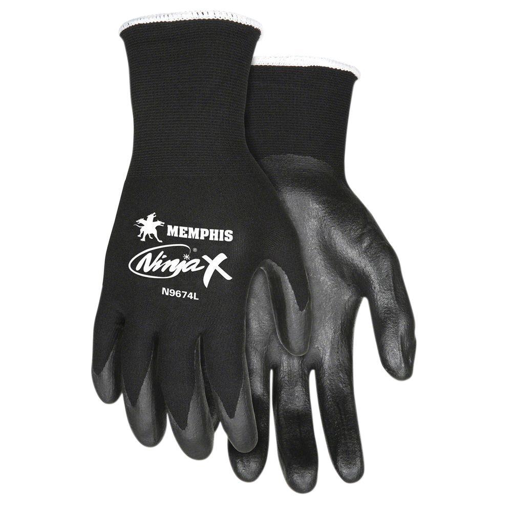 Unique Shell Nylon Safety Gloves