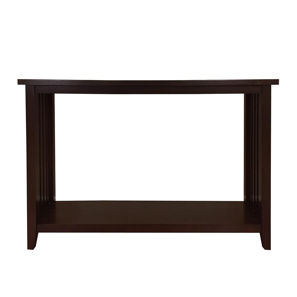 Brookdale Dark Walnut Console Table