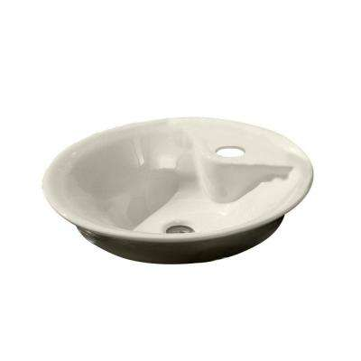 Morning Vitreous China Vessel Sink in Linen