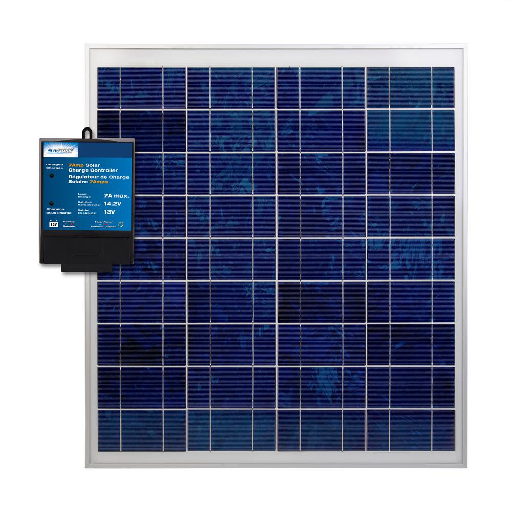 Sunforce 60-Watt Crystalline Solar Kit