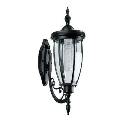 Kenwick 1-Light Outdoor Black Integrated LED Post Light