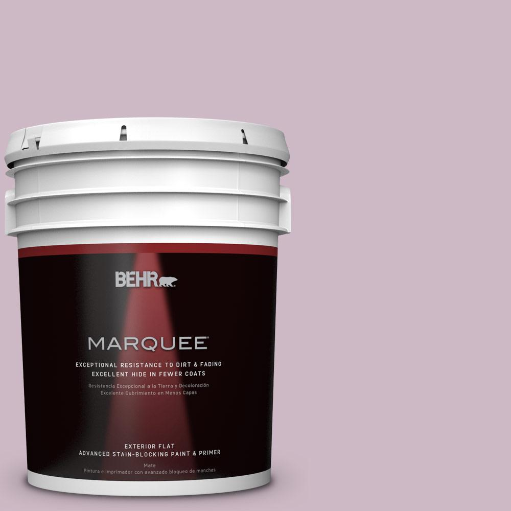 BEHR MARQUEE 5-gal. #S110-3 Queens Violet Flat Exterior Paint
