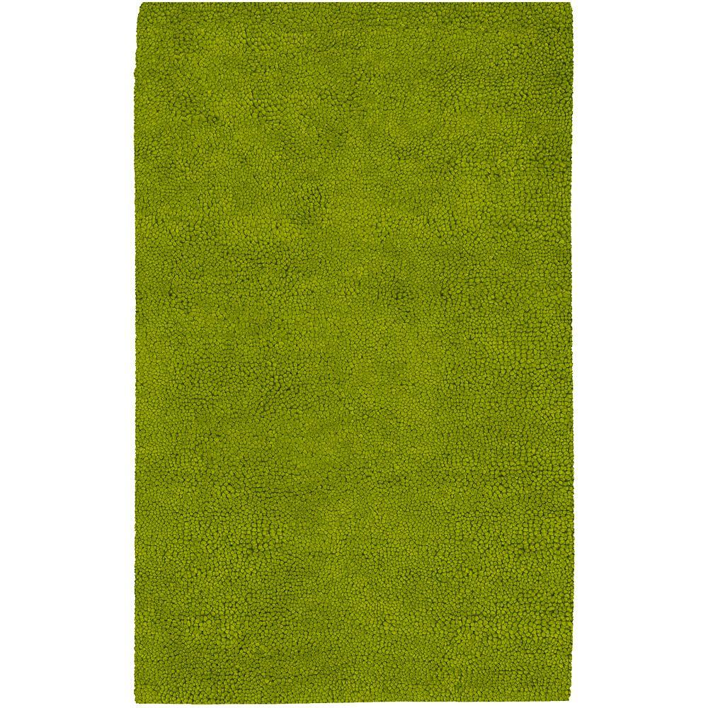 Artistic Weavers Cambridge Lime Green 3 ft. 6 in. x 5 ft. 6 in. Area Rug