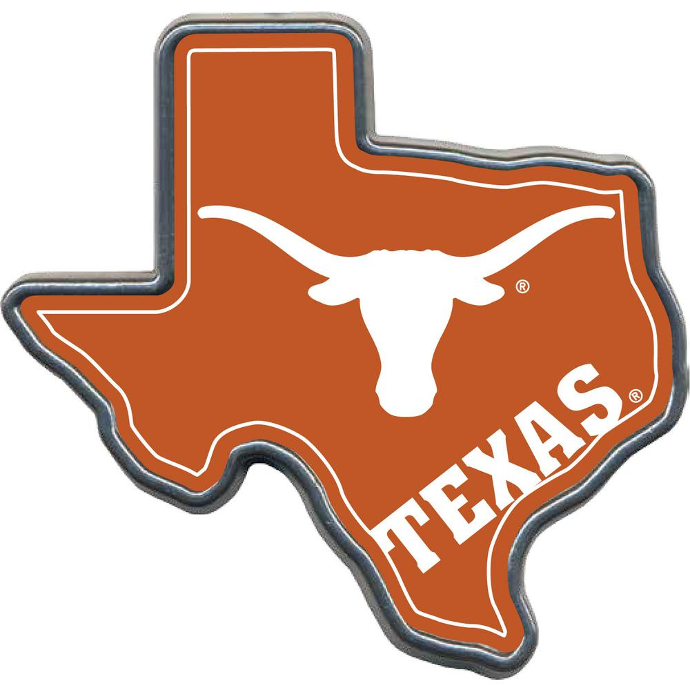 great american products texas longhorns helmet hitch cover hhcc2324