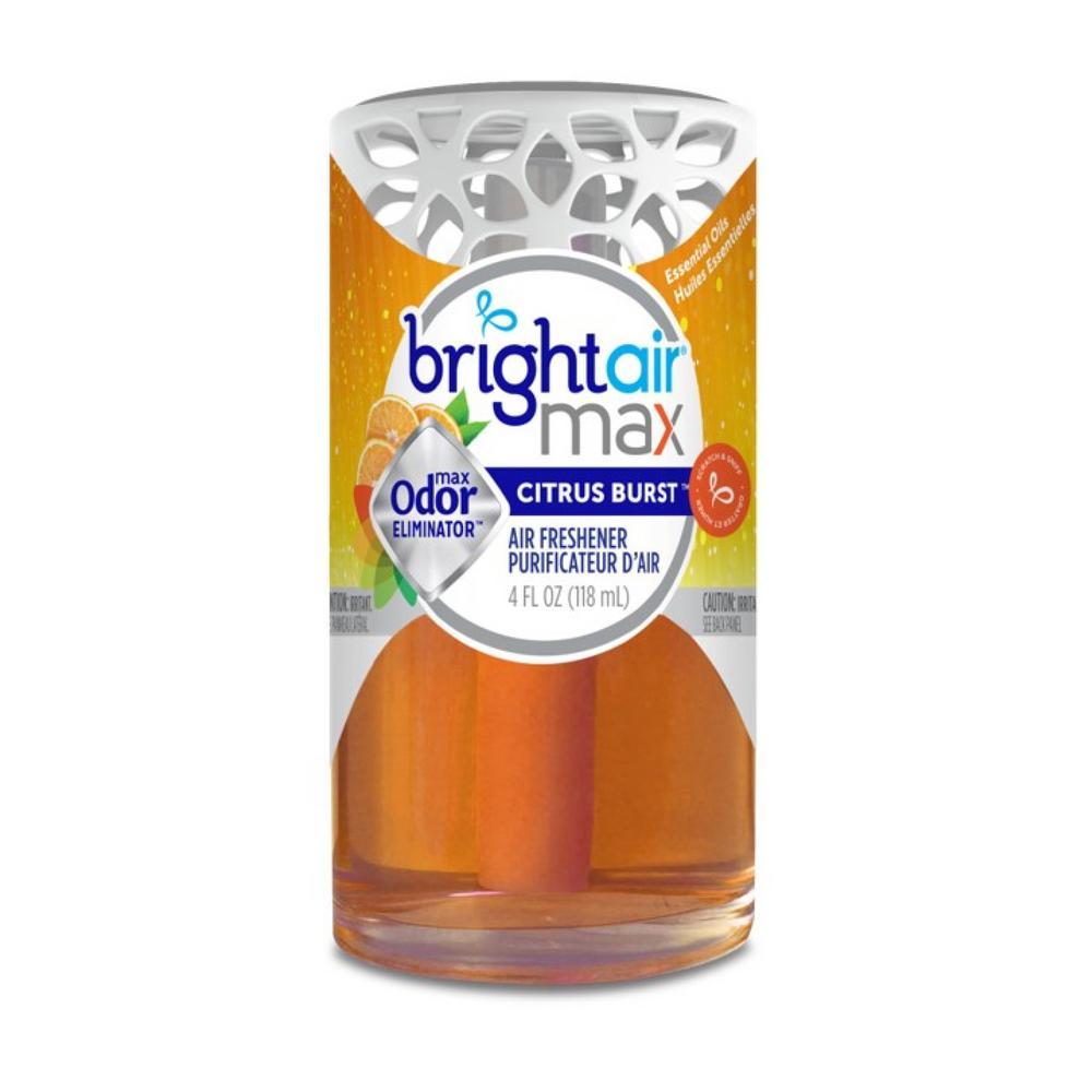 BrightAir Bright Air 4 oz. Citrus Burst Scented Oil Air Freshener, Orange