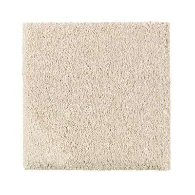 Carpet Sample - Gazelle I - Color Creme Brulee Texture 8 in. x 8 in.