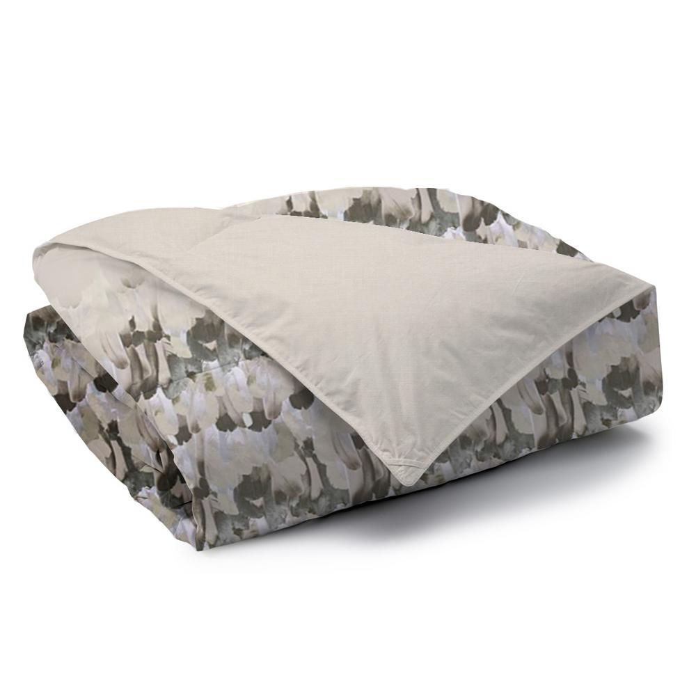 Safari Reversible Print 100% Organic Cotton Wrinkle Resistant Duvet Set and Insert