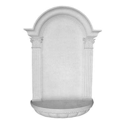 27-1/2 in. x 7-1/4 in. x 45 in. Primed Polyurethane Surface Mount Waltz Wall Niche