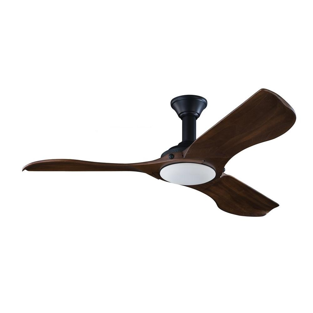 Monte carlo minimalist 56 in black ceiling fan 3mnlr56bkd the black ceiling fan aloadofball Gallery