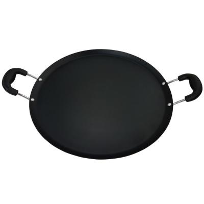 Zadora Carbon Steel Comal Pan with Handles