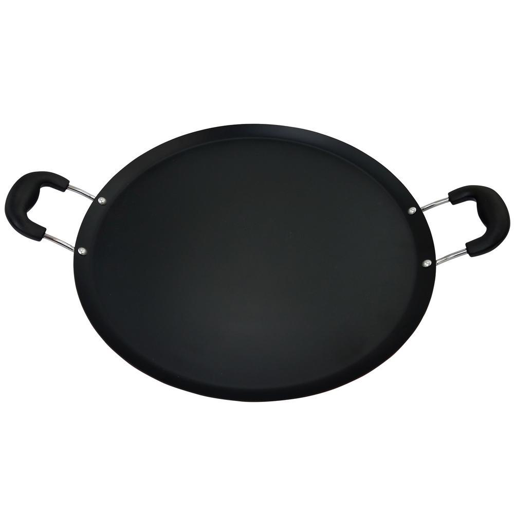 Zadora Carbon Steel Comal Pan with Handles
