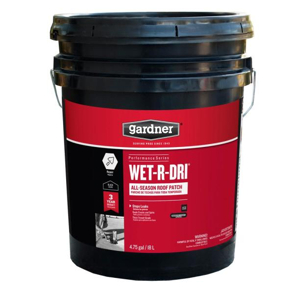 4.75 Gal. Wet-R-Dri All-Season Roof Patch