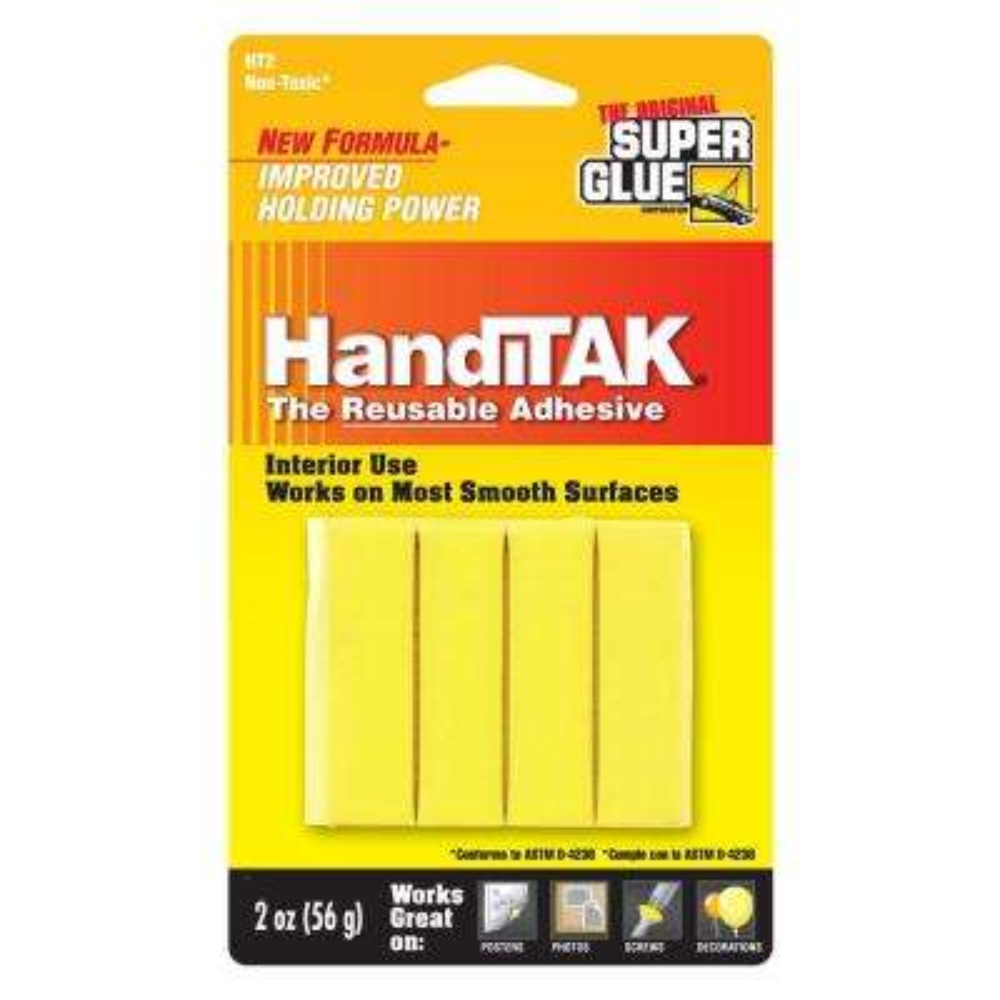 2 oz. Handitak Reusable Adhesive (12-Pack)