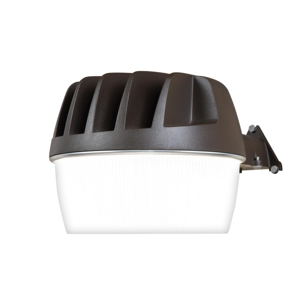 Halo bronze outdoor integrated led security wall and area light halo bronze outdoor integrated led security wall and area light with built in dusk to dawn photocell sensor 3300 lumens al3050lpcbzh the home depot aloadofball Image collections