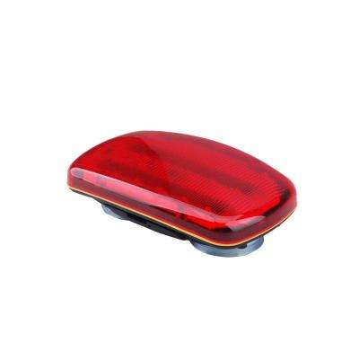 6-Volt Magnetic Red LED Safety Light