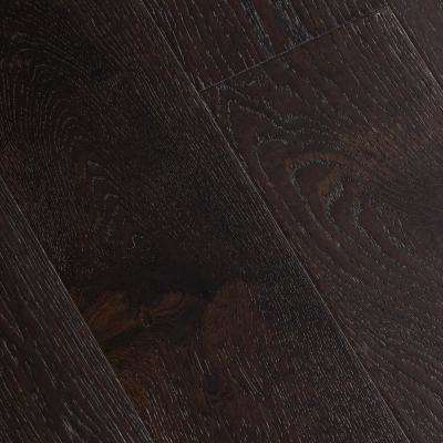 Wire Brushed Oak Sweeney 3/8 in. T x 7-1/2 in. Wide x Varying Length Click Lock Hardwood Flooring (30.92 sq. ft. / case)
