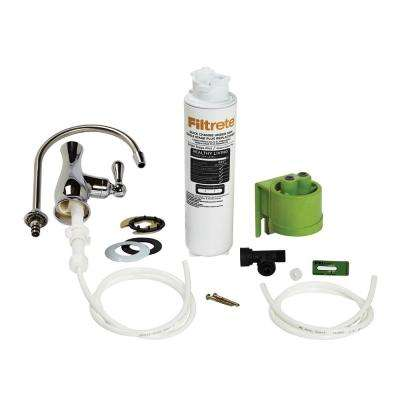 Single Stage Plus Under-Sink Maximum Filtration High Performance Drinking Water System with Faucet
