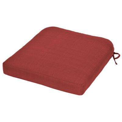 Charlottetown Chili Replacement Outdoor Rocking Chair Cushion