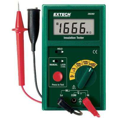 Digital Insulation Tester Megohmmeter