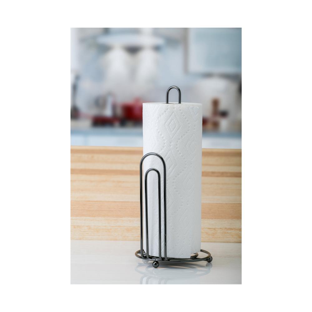 Kitchen Details Onyx Paper Towel Holder