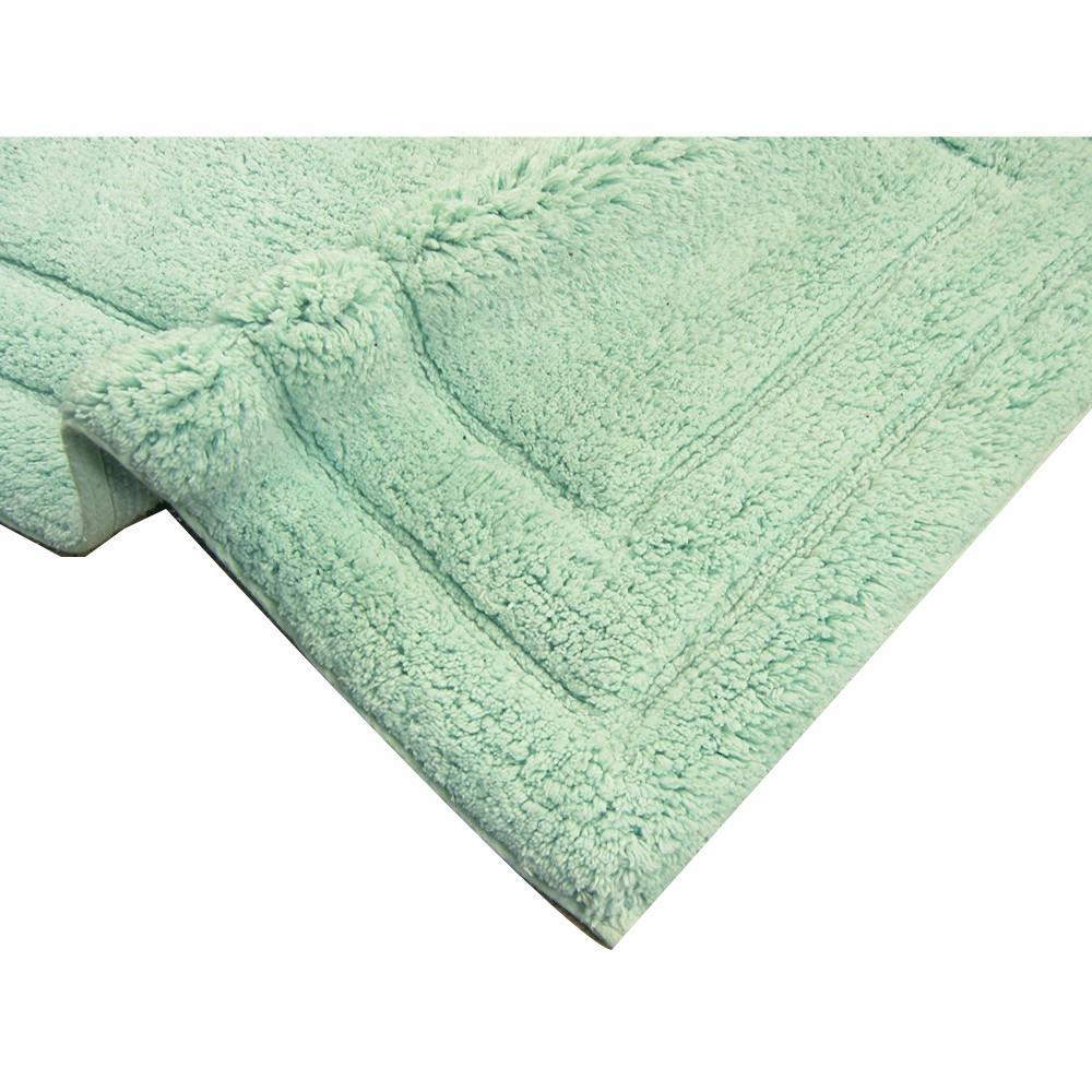 Benzara Clic Mint Green Rectangular 40 In L X 24 W