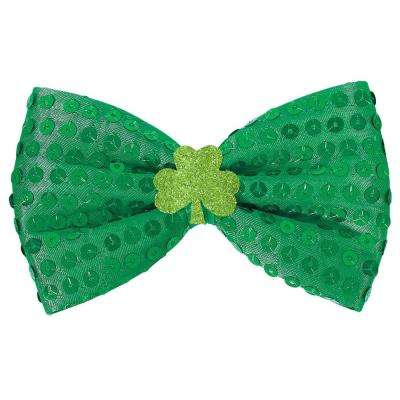 Green Polyester St. Patrick's Day Bow Tie Choker (3-Pack)