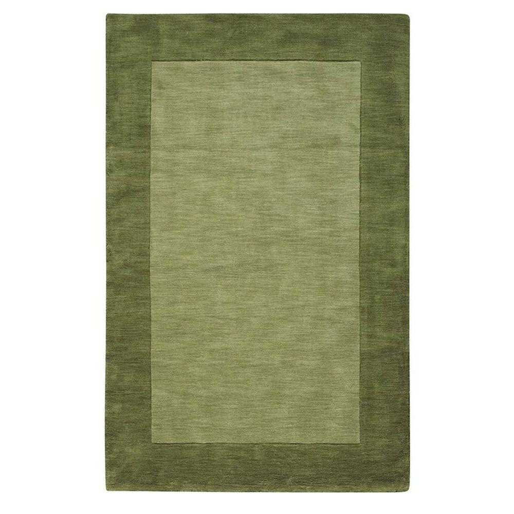 Home decorators collection melrose sage 5 ft 3 in x 8 ft for Home decorators rugs