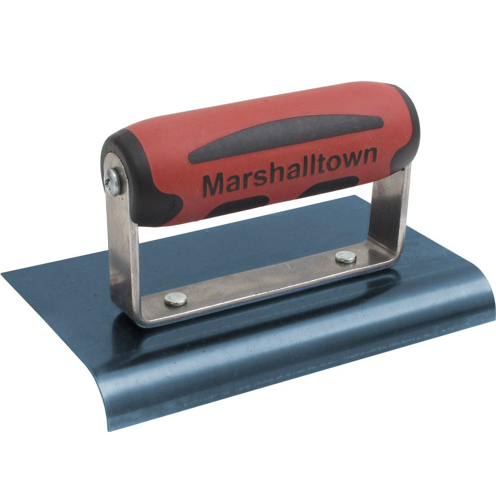 marshalltown 6 in x 4 in blue steel edger 160bd the