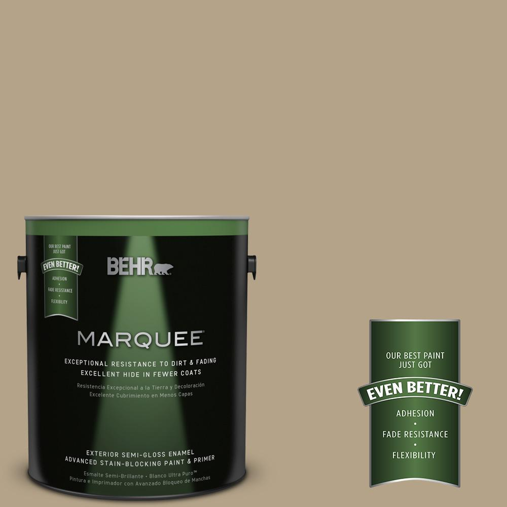 BEHR MARQUEE Home Decorators Collection 1-gal. #HDC-NT-12 Curly Willow Semi-Gloss Enamel Exterior Paint