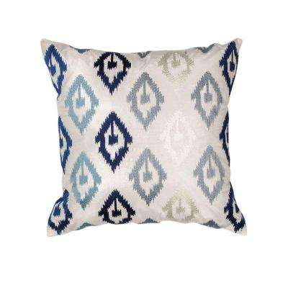 Diamond Scape Navy/Grey Decorative Pillow