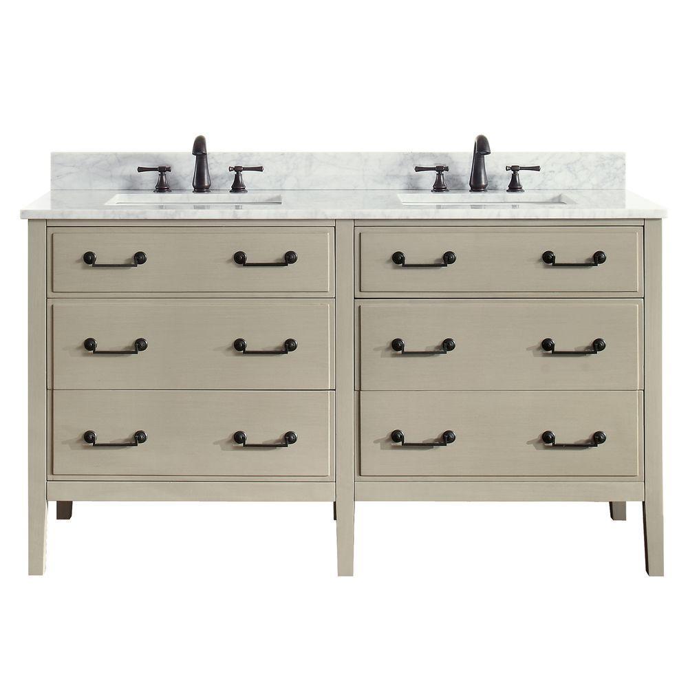 Cool 59 61 In Beige Bathroom Vanities Bath The Home Depot Download Free Architecture Designs Pushbritishbridgeorg