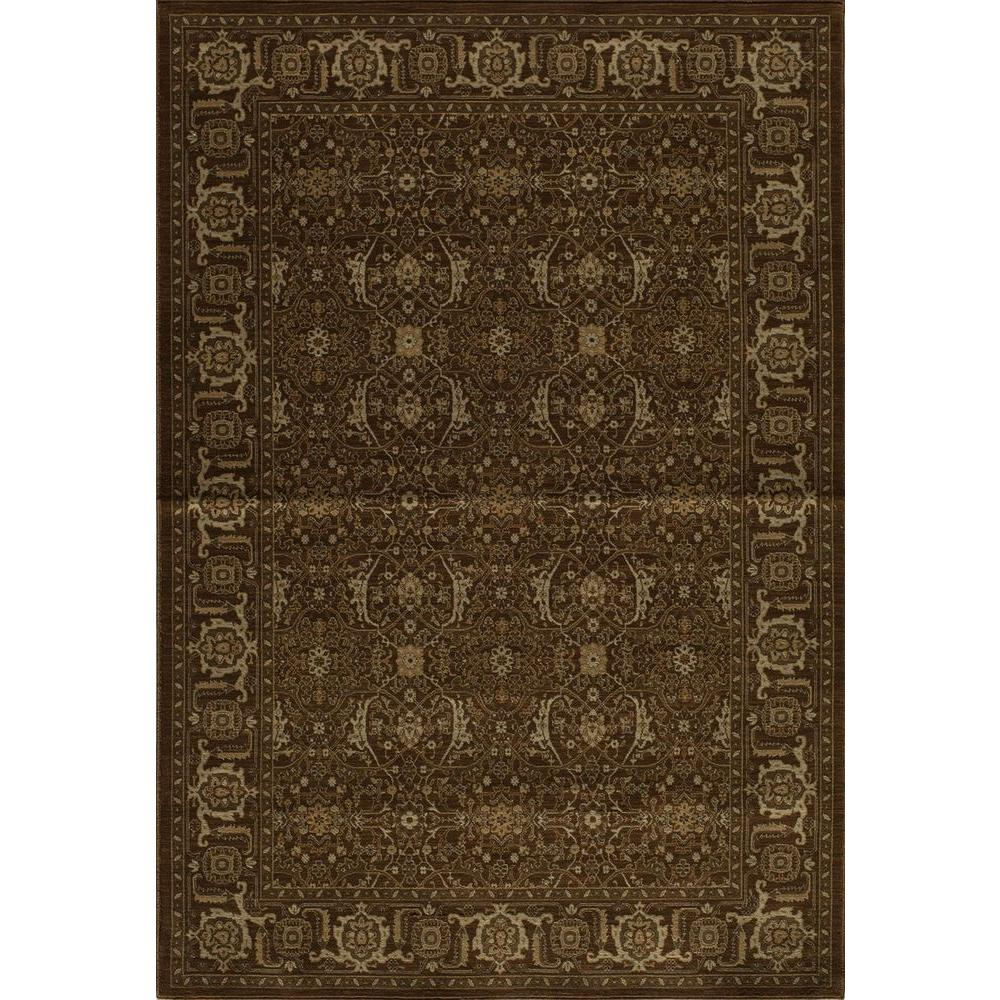 Momeni Encore Chocolate 3 ft. 11 in. x 5 ft. 11 in. Indoor Area Rug