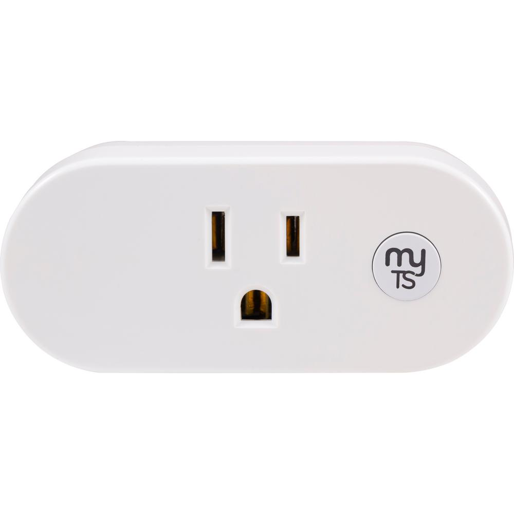 myTouchSmart Wi-Fi Plug-in Indoor Smart Switch Smart Plug, White was $39.99 now $24.99 (38.0% off)